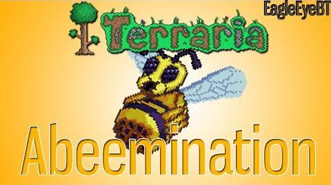 Terraria Abeemination! To summon the Queen Bee! Help and Howto