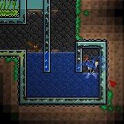 Water u-bend gate