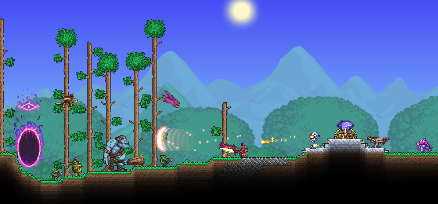 Old one 39 s army terraria wiki fandom powered by wikia - Dungeon defenders 2 console ...