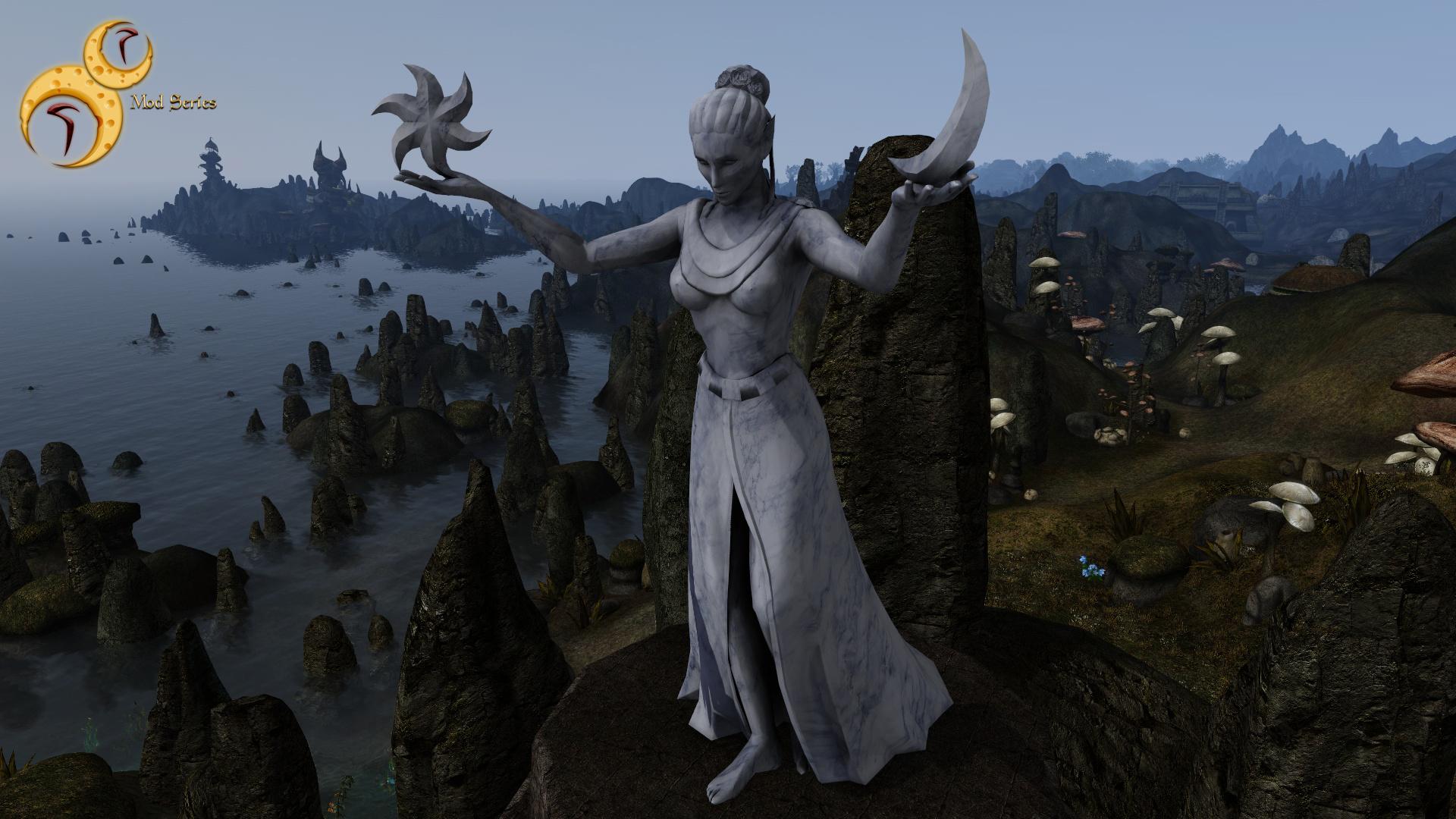 rr mod series azura statue replacer the elder scrolls mods wiki fandom powered by wikia Oblivion Game Meme Oblivion Game Map