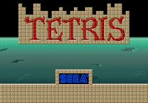 Tetris Sega 1988 arcade title