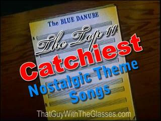 15 Nostalgia Critic - The Top 11 Catchiest Theme Songs