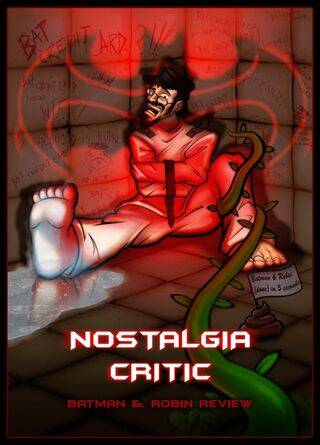 Nostalgia Critic Batman Robin by MaroBot