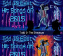 The Top Ten Best Hit Songs of 2015