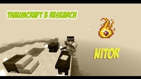 ThaumCraft 3 Research - Nitor