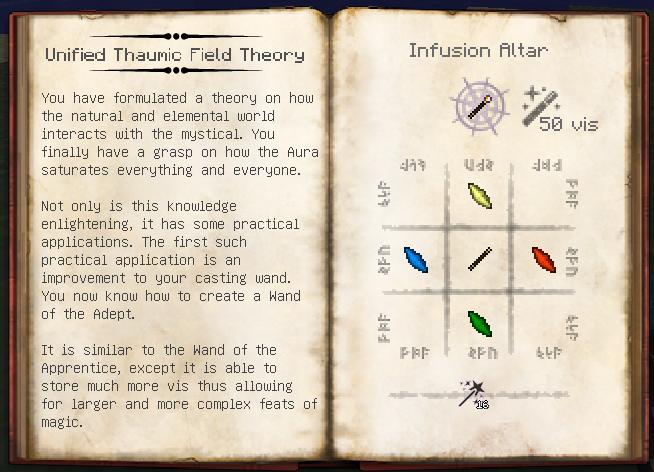 Thaumcraft 3 как сделать палочку адепта