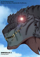 Godzilla 2 Headshot by ZillaMaster91