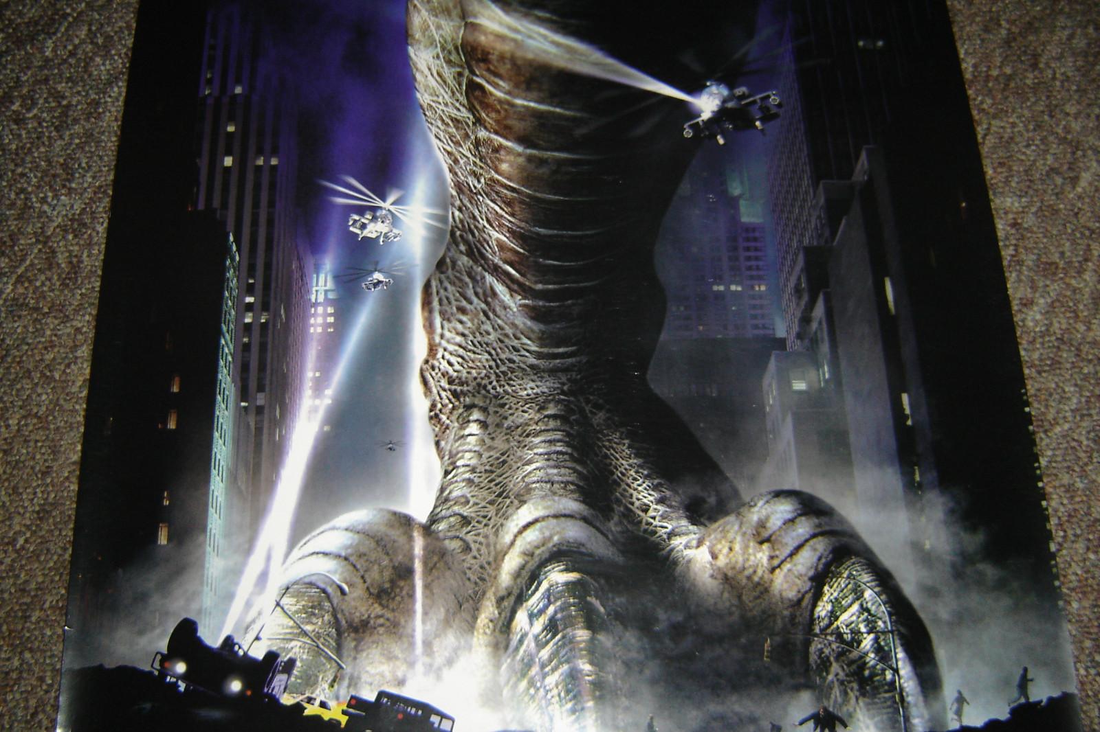 - 2 Godzilla (1998) NEW Poster Matthew Broderick