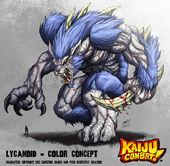 Kaiju combat lycanoid by kaijusamurai-d5wma8z