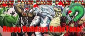 Thank you all kaiju fans for believing in Kaiju Combat and for the incredible support you guys have been giving so far!