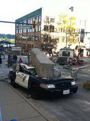 Godzilla 2014 Smashed Car 1