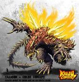 Kaiju combat taligon by kaijusamurai-d61tu68