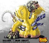 Kaiju combat maladra by kaijusamurai-d5zaugt