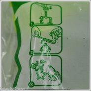 McDonald's Croods Bear Owl Toy Instruction