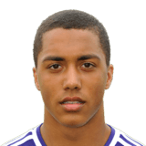 The 20-year old son of father (?) and mother(?), 176 cm tall Youri Tielemans in 2017 photo