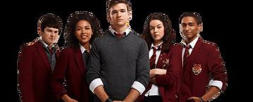 Fabian, KT, Eddie, Patricia and Alfie - The Season 3 Sibuna team
