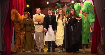 The gang in the play