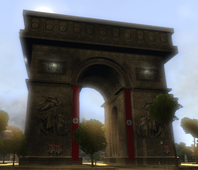 Arc De Triomphe The Saboteur Wiki Fandom Powered By Wikia