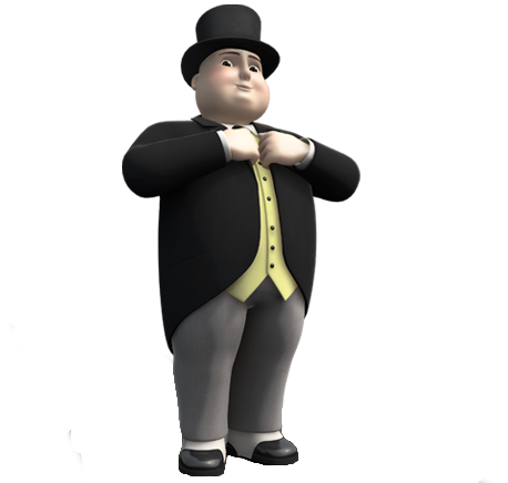 Sir Topham Hatt And Thomas