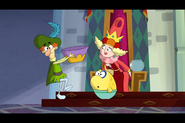 S1e13b Teensy Begins Growing Out of Control at Queen Delightful's Castle 6