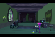 S1e03a Hildy Consults the Book of Spells and Crystal to Change Grim Back 4