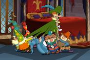Dwarfs Getting Starchbottom Down