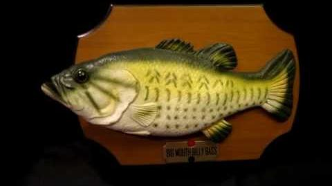 Big mouth billy bass the original singing fish the all for Talking bass fish