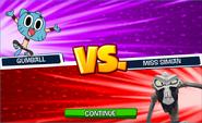 Gumball vs. Miss Simian
