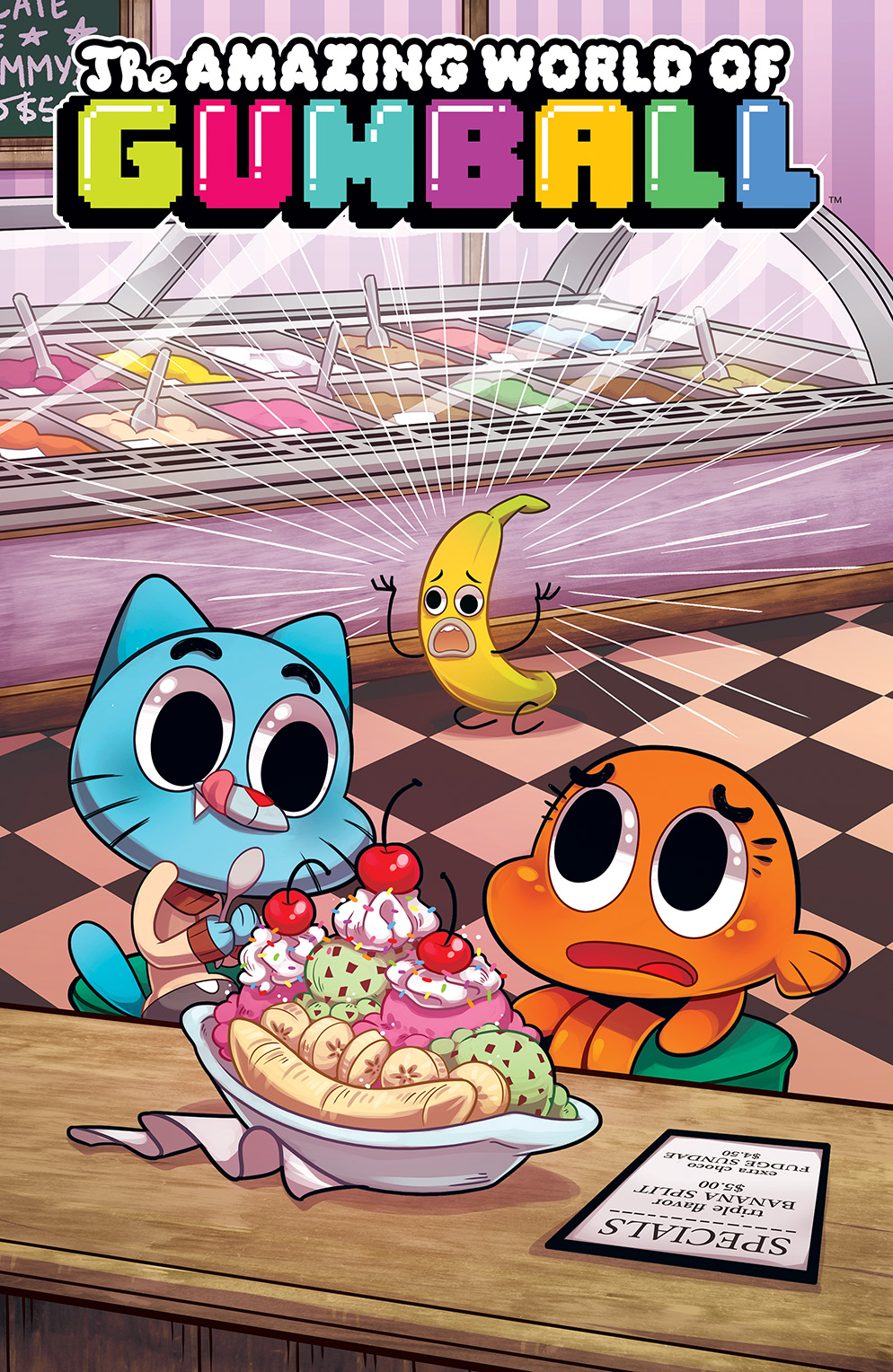 The Amazing World Of Gumball The Tba Issue 5 | The A...