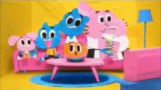 "Cartoon Network USA Movie Block ""Gumball"" Dimensional Bumpers"