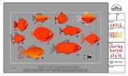 GB416ORIGINSPT1 Character Goldfish