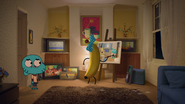 Gumball Watterson on The Shell 10
