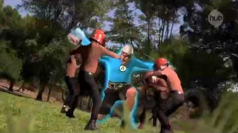"""The Aquabats! Super Show! """"Man Ant"""" (Promo) - The Hub"""