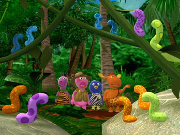 backyardigans heart of the jungle episode