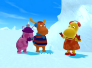 The Backyardigans The Yeti 12 Uniqua Tyrone Tasha