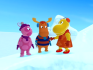 The Backyardigans The Yeti 10 Uniqua Tyrone Tasha