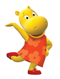 The Backyardigans Tasha Nickelodeon Nick Jr. Character Image