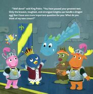 The Backyardigans Dragon in The Mighty Egg Sitters