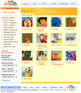 NickJr.com - The Backyardigans Nickelodeon Nick Jr. Characters Cast Show Menu