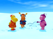 The Backyardigans The Yeti 23 Uniqua Tyrone Tasha