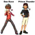 Dan and Prince Riley
