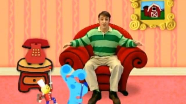 Video Blue S Clues 2x11 What Does Blue Want To Do On
