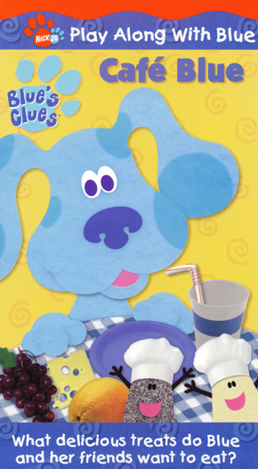 Caf 233 Blue Vhs Blue S Clues Wiki Fandom Powered By Wikia