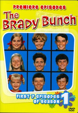The-Brady-Bunch-Season 1-DVD-cover