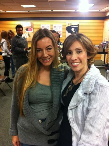 File:Kami Garcia with Addison Moore - Beautiful Chaos event.jpg