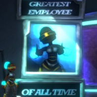 Greatest Employee Of All Time Poster Alt-360