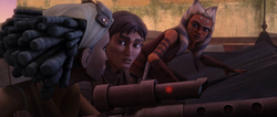 Lux, Steela, and Ahsoka observing the power station-FR
