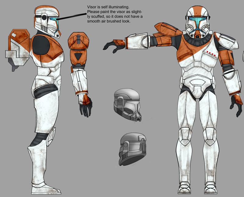 star wars clonetrooper concept - photo #27