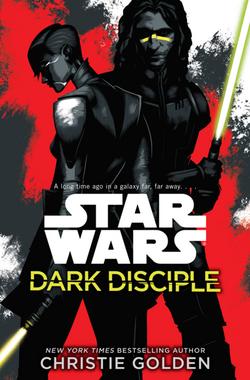 Dark Disciple actual cover