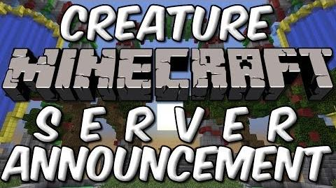 Creature Minecraft Server Beta Announcement!